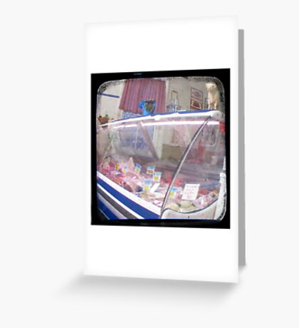 The Butcher - Northern Tablelands, NSW, Australia Greeting Card