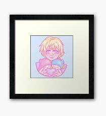 Ryo Nishimiya fanart Framed Print