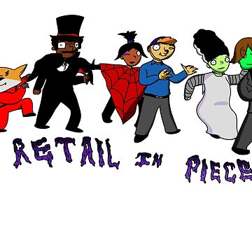 Retail In Pieces II Design by RetailTheComic