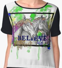 Believe Women's Chiffon Top