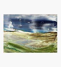 Storm Passing Photographic Print