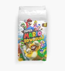 Super Mario 3D World game art Duvet Cover