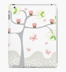 Whimsical Pink Cupcakes Tree iPad Case/Skin