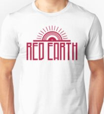 RED EARTH Inverted Colour Logo  T-Shirt