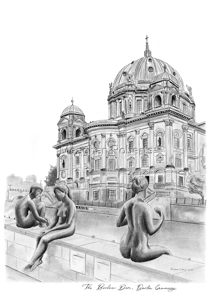 The Berliner Dom, Berlin Germany by Meaghan Roberts