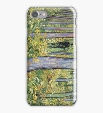 Undergrowth with Two Figures 1890 Vincent Van Gogh iPhone Case/Skin