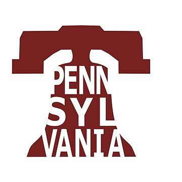 Pennsylvania, liberty bell by denip