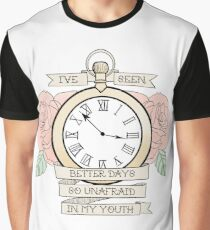 Lydia - Traditional Pocket Watch Graphic T-Shirt