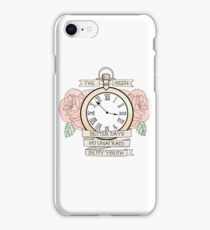 Lydia - Traditional Pocket Watch iPhone Case/Skin