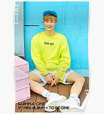 kang daniel - wanna one to be one Poster