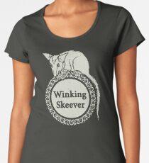The Winking Skeever Women's Premium T-Shirt