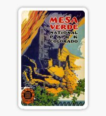 Mesa Verde National Park Colorado Royal Gorge Route Travel Decal Sticker