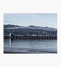 Petone Wharf Photographic Print