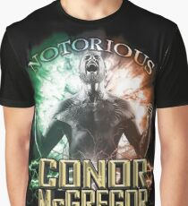 Notorious Conor McGregor energy explosion and rage Graphic T-Shirt
