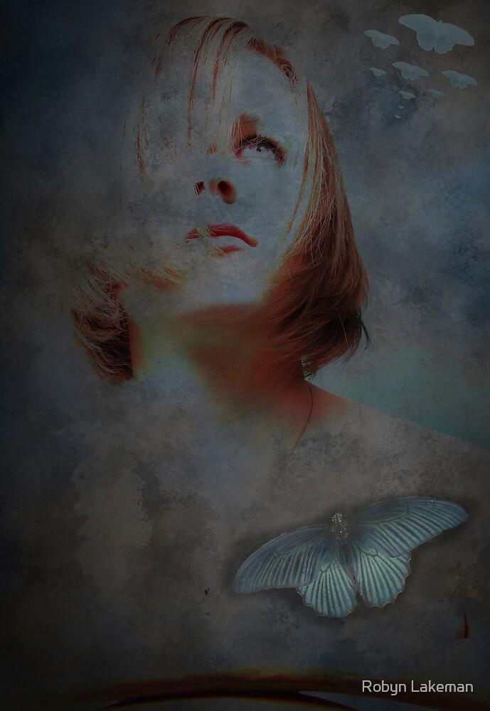 Butterfly blue by Robyn Lakeman
