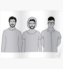 3D AJR Poster