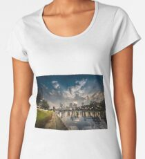 Day and Nigh Time - Melbourne Women's Premium T-Shirt