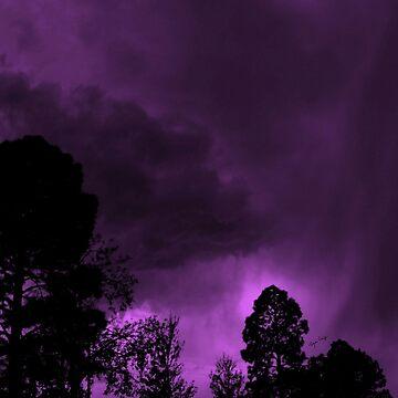 Purple Dayz by TinaCruzArt1