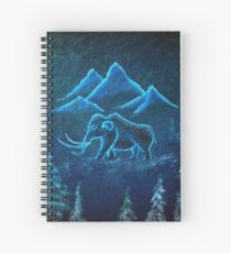 Cuaderno de espiral Un viaje de mamut