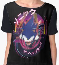Sonic The Hedgehog Chiffon Top