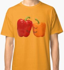 Funny enamored sweet peppers Classic T-Shirt