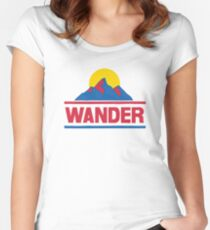 Wander Women's Fitted Scoop T-Shirt