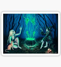 Witches' Cauldron Sticker