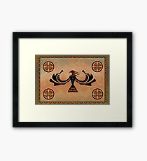 Crow-The Shapeshifter Framed Print