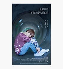 BTS LOVE YOURSELF SUGA Photographic Print