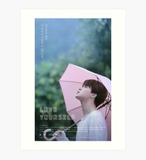 BTS LOVE YOURSELF JIMIN Art Print