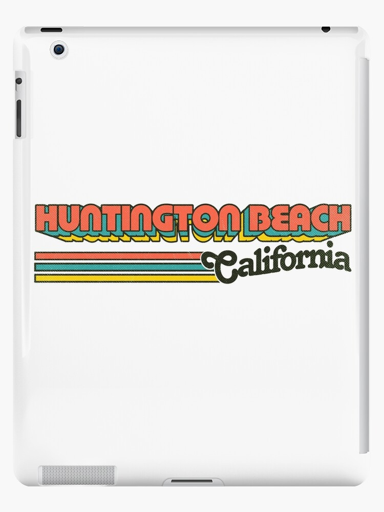 Huntington Beach, CA | City Stripes by retroready