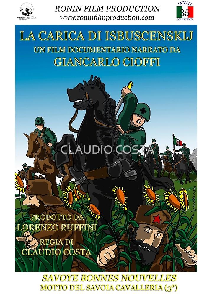 La carica di Isbuscenskij - Official poster  by CLAUDIO COSTA