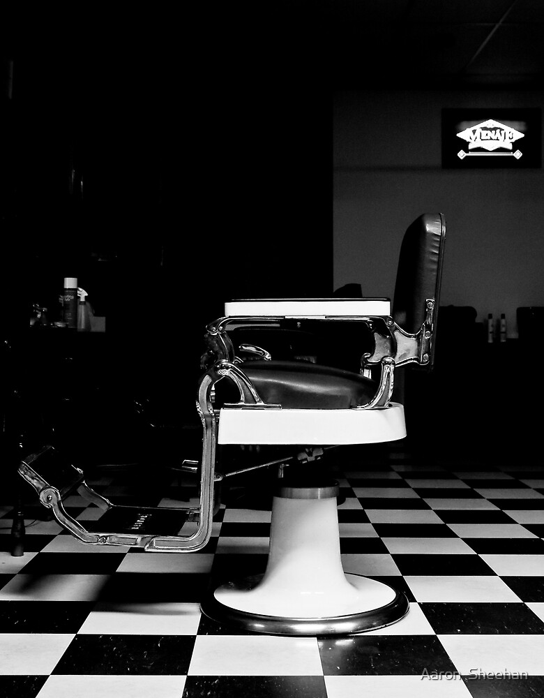 In Shadow The Barbar Waits by Aaron  Sheehan