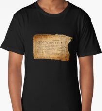 Ernest Shackleton New wanted EXPLORERS!! Long T-Shirt