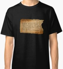 Ernest Shackleton New wanted EXPLORERS!! Classic T-Shirt