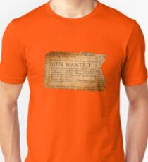 Ernest Shackleton New wanted EXPLORERS!! T-Shirt