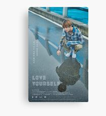 BTS LOVE YOURSELF V Canvas Print