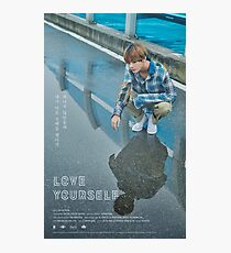BTS LOVE YOURSELF V Photographic Print
