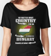 Hungary Hungarian Women's Relaxed Fit T-Shirt