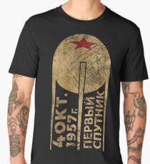 CCCP Sputnik 1 First Satellite Men's Premium T-Shirt