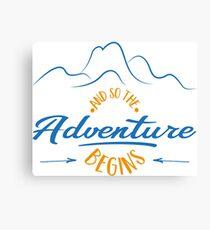 Abenteuer Canvas Print