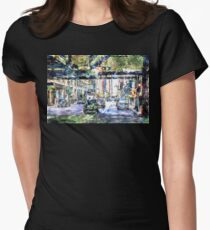 Scenes In The City Women's Fitted T-Shirt