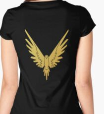 Limited Edition Maverick ∵ Official Logan Paul © Women's Fitted Scoop T-Shirt