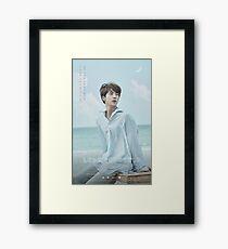 BTS LOVE YOURSELF JIN Framed Print