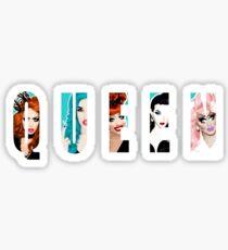 RuPaul's Drag Race Queens, ft. Bianca Del Rio, Adore Delano, Alyssa Edwards, Violet Chachki & Trixie Mattel Sticker