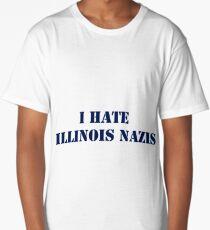 I Hate Illinois Nazis Long T-Shirt