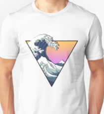 Camiseta unisex Great Wave Esthetic