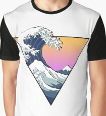 Great Wave Aesthetic Graphic T-Shirt