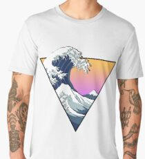 Great Wave Aesthetic Men's Premium T-Shirt