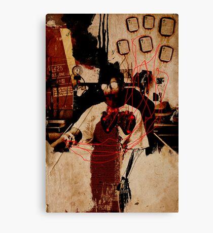 SPIRITUAL HEALING MACHINE  Canvas Print
